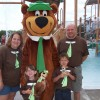 Generations Love Dells Campground with Yogi Bear!