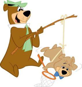 Yogi Bear and Boo Boo